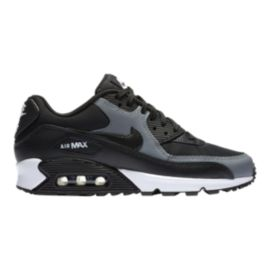 Nike Women's Air Max 90 Shoes - Black/Cool Grey