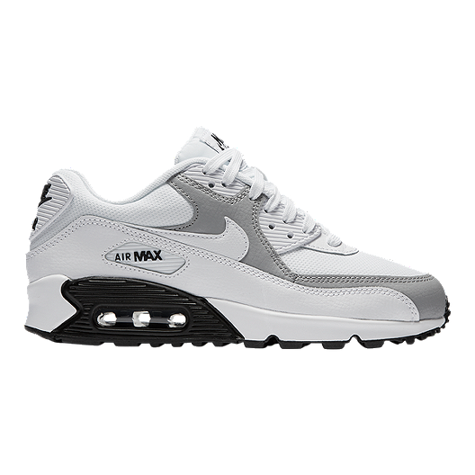 sports shoes bb42f 48528 Nike Women s Air Max 90 Shoes - White Wolf Grey   Sport Chek