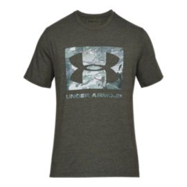 Under Armour Men's Knockout Logo T Shirt - Artillery Green