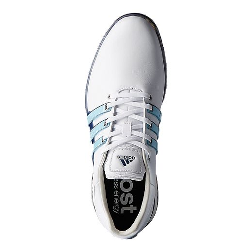 Aplicado Fuera de Motel  adidas Golf Men's Tour 360 Boost 2.0 Golf Shoes - White/Blue | Sport Chek
