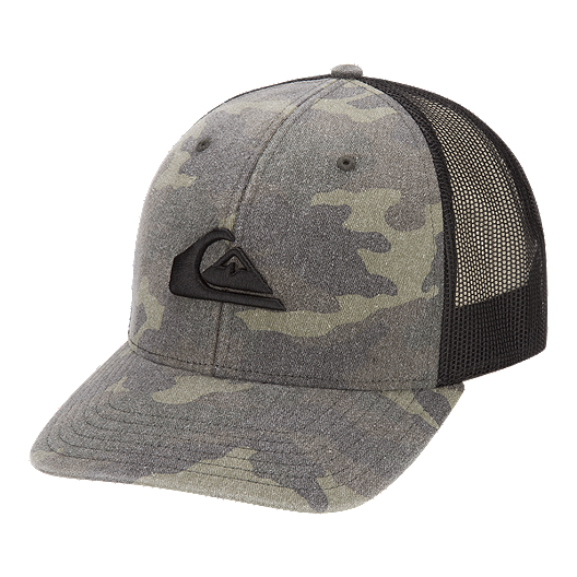 35f4e800f93dd Quiksilver Men s Grounder Trucker Hat
