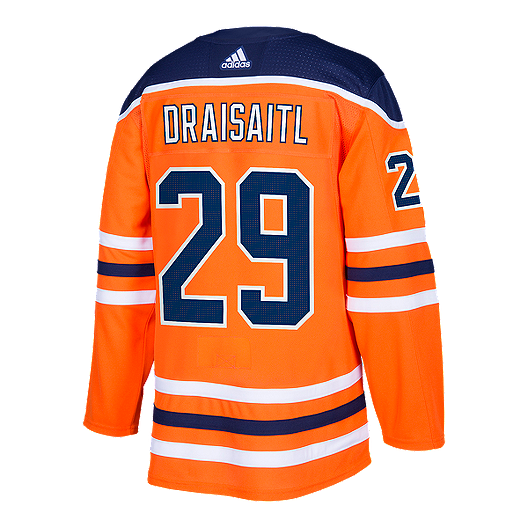 huge discount aba5f 5ce56 Edmonton Oilers Leon Draisaitl Authentic Home Hockey Jersey