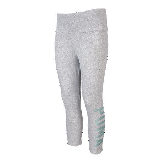 dace8f1f1c739 Puma Women's Athletic Cropped Leggings - LGH/PALESCENT