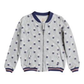 Roxy Girls' Coming Alone Bomber Jacket