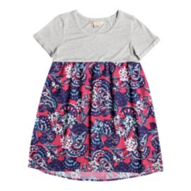 Roxy Girls' Branche Of Lilac Tee Dress