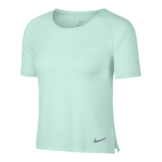 ec05ac1ca681d Nike Women s Miler Breathe Short Sleeve Running Shirt
