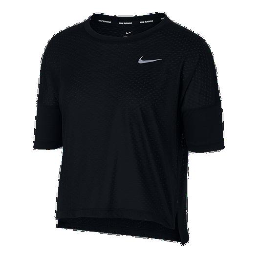 Nike Women's Breathe Tailwind Cool Short Sleeve Running