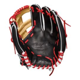 "Wilson A2000 11.75"" Baseball Glove - Black/Tan/Red"