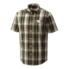 Mountain Hardwear Men's Farthing Short Sleeve Shirt - Surplus Green