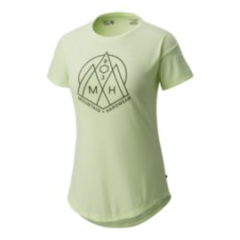 Mountain Hardwear Women's 3 Peaks T Shirt - Heather Headlamp