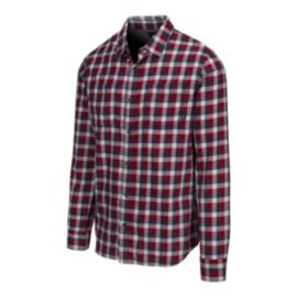 Vans Men's Alameda II Flannel Long Sleeve Shirt - Chili Pepper