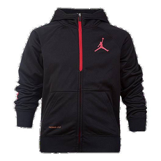 purchase cheap 512e6 06279 Nike Jordan Boys  23 Alpha Dry Full Zip Hoodie   Sport Chek