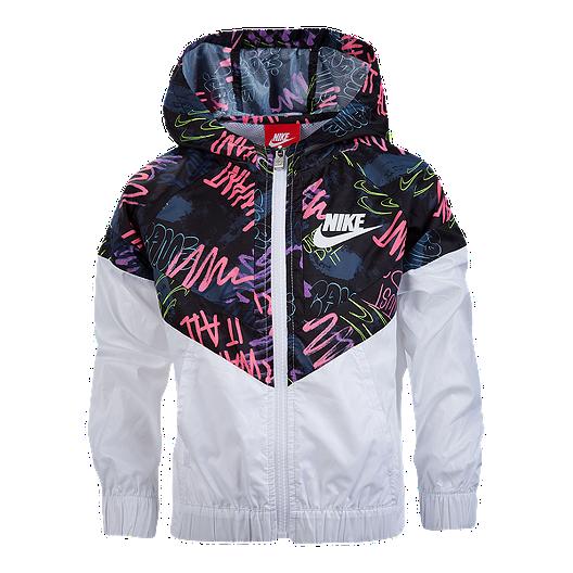9d14674c141c Nike Girls  4-6X All Over Print Windrunner Jacket