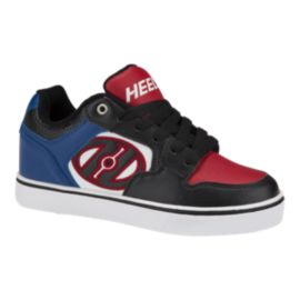 Heely's Kids' Motion Plus Skate Shoes - Black/Royal/Red