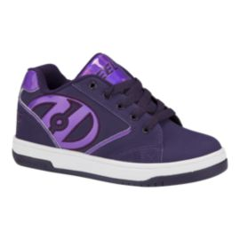 Heely's Girls' Propel 2.0 Shoes - Great Purple Gasoline