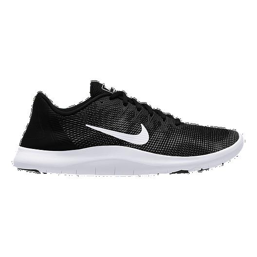 san francisco 6cdde 17972 Nike Men s Flex RN 2018 Running Shoes - Black White   Sport Chek