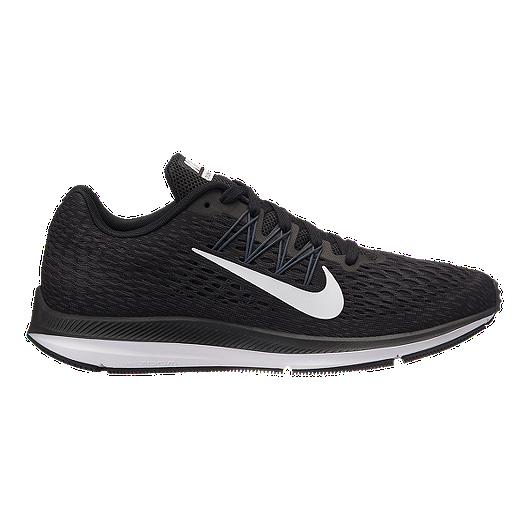 43790eb904d Nike Men s Winflo 5 Running Shoes - Black White