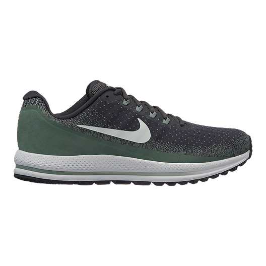 ce072887b79f1 Nike Men s Zoom Vomero 13 Running Shoes - Grey Green