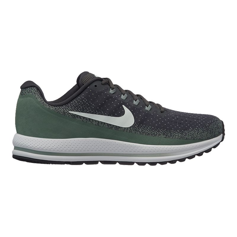 1550b3f39e45 Nike Men s Zoom Vomero 13 Running Shoes - Grey Green (883412487023) photo