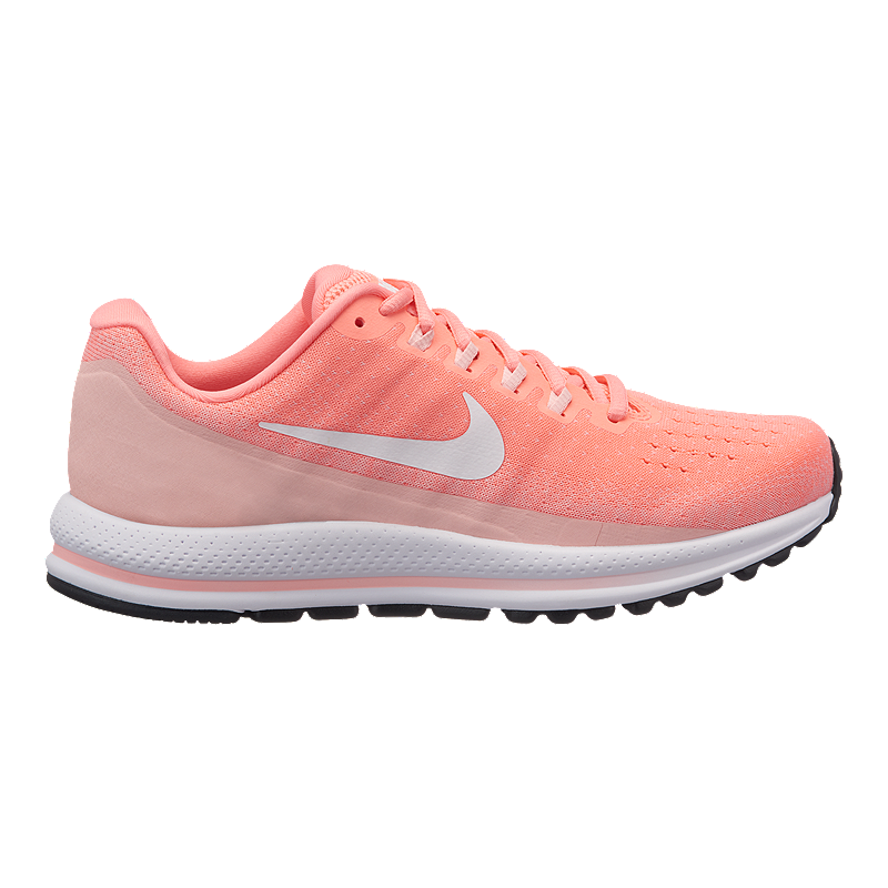 Nike Women s Air Zoom Vomero 13 Running Shoes - Pink White  d178900ef