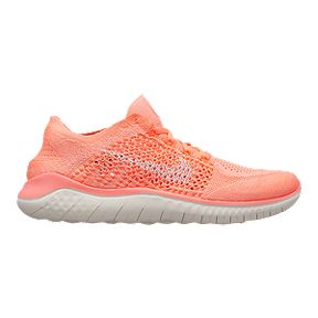 002d2c90543f9 Nike Women s Free RN Flyknit 2018 Running Shoes - Crimson Pulse
