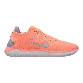 d678cec350ee Nike Women s Free RN 2018 Running Shoes - Crimson Pulse Grey