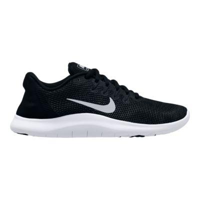 nike women s flex rn 2018 running shoes black white sport chek rh sportchek ca