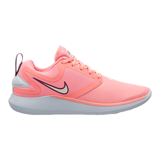 eb49e83b3b35 Nike Women s LunarSolo Running Shoes - Pink Red Platinum