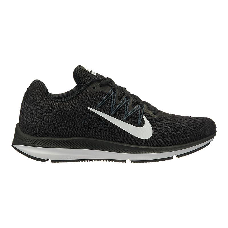 Nike Pegasus 35 And Winflo 5 Nike Women's Zoom Winflo 5 Running Shoes - Black/White | Sport Chek
