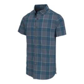 The North Face Men's Monanock Short Sleeve Shirt - Blue Coral