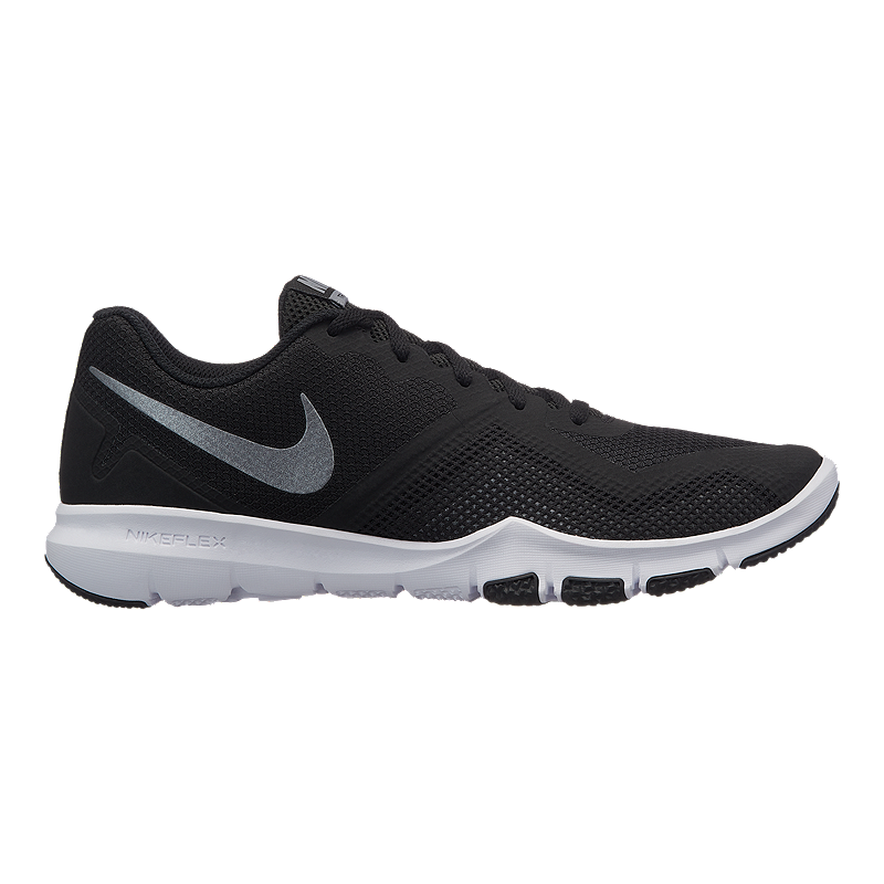 c7c7bb37318a Nike Men s Flex Control II 4E Extra Wide Width Training Shoes - Black Grey