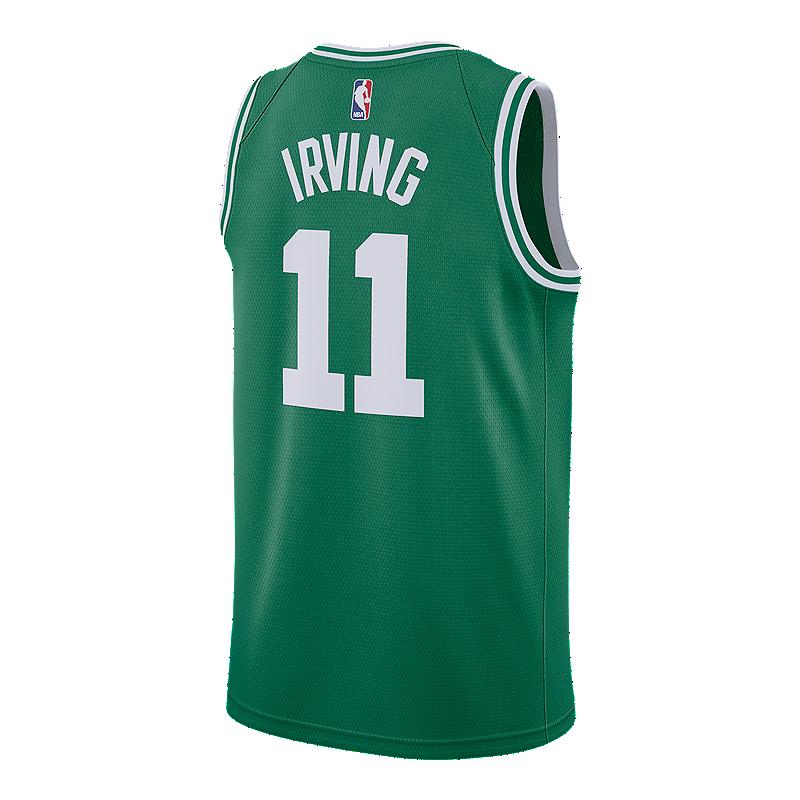 3fd082e4dca4 Boston Celtics Kyrie Irving Swingman Basketball Jersey