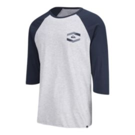 Quiksilver Men's Die Cut Raglan T Shirt