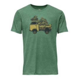 The North Face Men's Van Tri-Blend Short Sleeve T Shirt - Smoke Pine