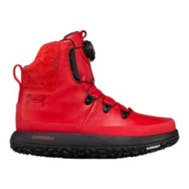 Under Armour Men's Team Fat Tire Govie Winter Boots - Red