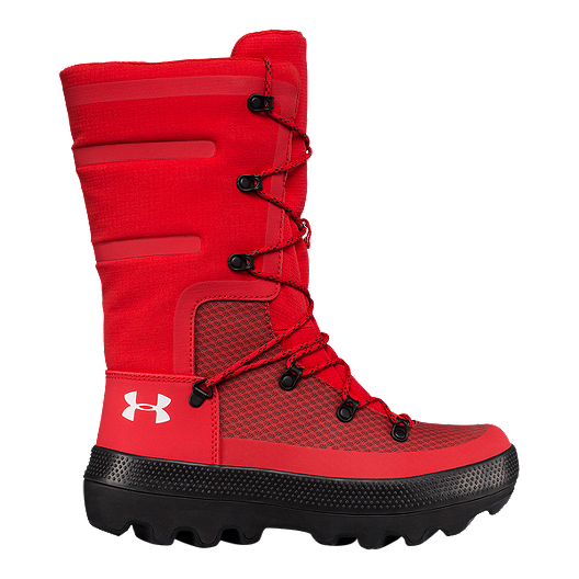 meet 11aed 3cd6d Under Armour Women's Team Fat Tire Govie Winter Boots - Red ...