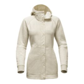 The North Face Women's Re-Source Snap Long Hoodie - Wild Oat