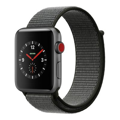 Apple Watch Series 4 Gps 44mm Space Grey Aluminum Case With Black