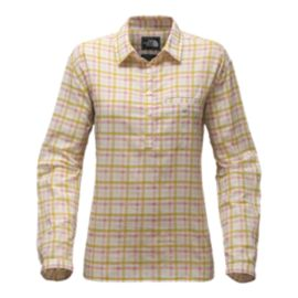The North Face Women's Barilles Pullover Long Sleeve Shirt - Yellow
