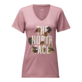 The North Face Women's Have You Herd Tri-Blend T Shirt - Lavender