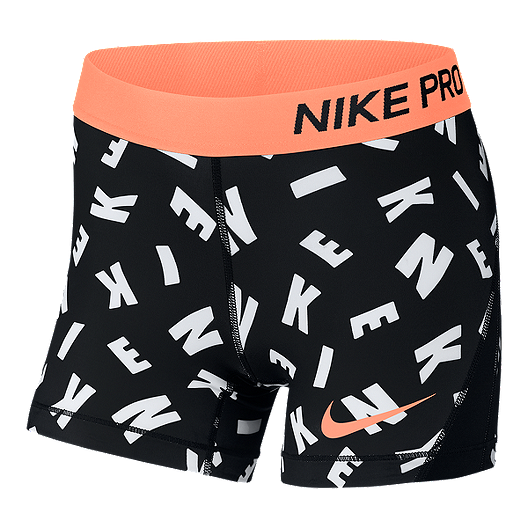 0e36f6123ab Nike Pro Girls' All Over Print 2 Boy Shorts   Sport Chek