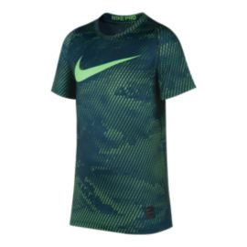Nike Pro Boys' Fitted All Over T Shirt