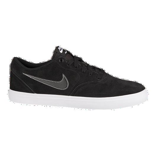 7dfa2bdaf9ee Nike SB Men s Check Solar Skate Shoes - Black White
