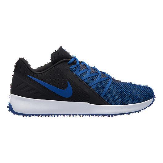 big sale 73782 55553 Nike Men s Varsity Compete Trainer Training Shoes - Black Blue   Sport Chek