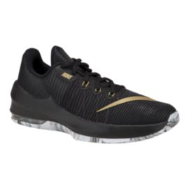 Nike Kids' Air Max Infuriate Grade School Basketball Shoes - Black/Gold
