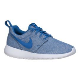 Nike Kids' Roshe One Grade School Shoes - Blue/White