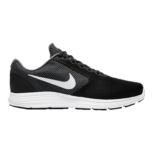 super popular e1027 af0d7 Nike Men s Revolution 3 4E Extra Wide Width Running Shoes - Dark Grey White