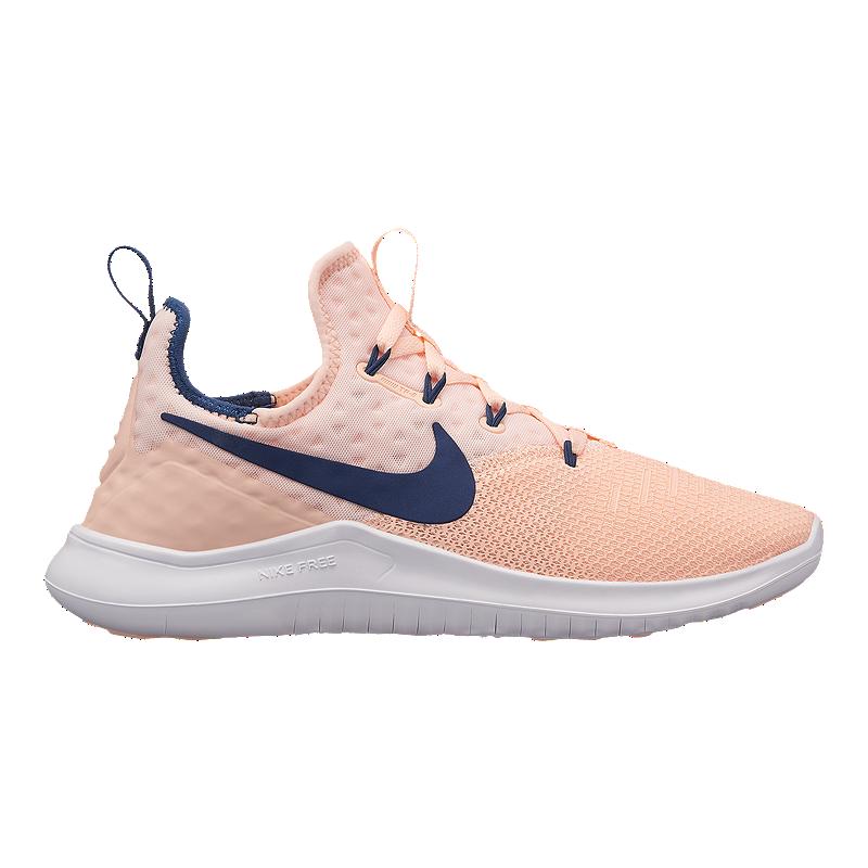 f1cf9d69b05bf Nike Women s Free TR 8 Training Shoes - Crimson Navy White