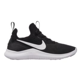 Nike Women's Free TR 8 Training Shoes - Black/White