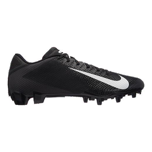 ff1d26d07 Nike Men s Vapor Untouchable Speed 3 TD Low Football Cleats - Black -  BLACK WHITE